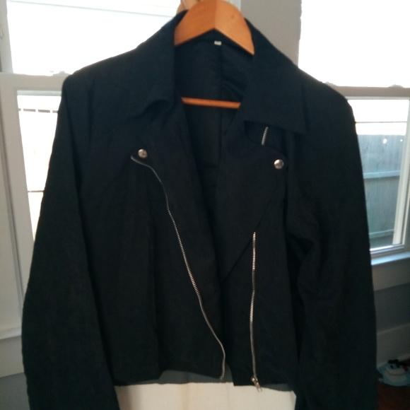 Vintage Jackets & Blazers - Vintage lightweight moto style jacket